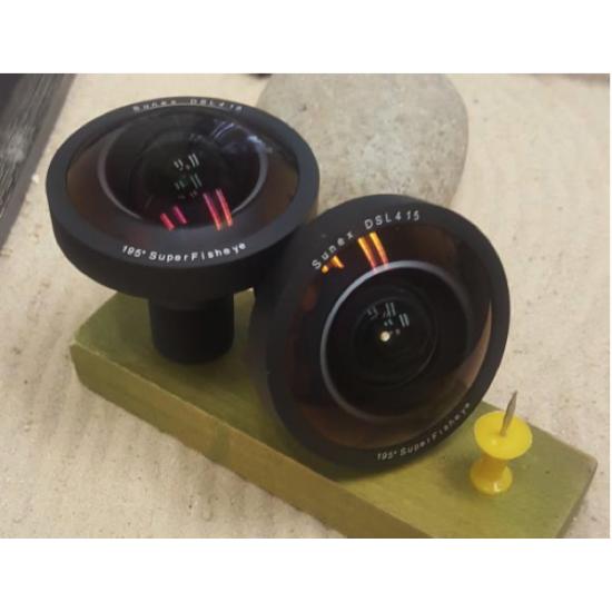 """DSL415 20Mpx 4/3"""" 3,3mm F/2.4"""