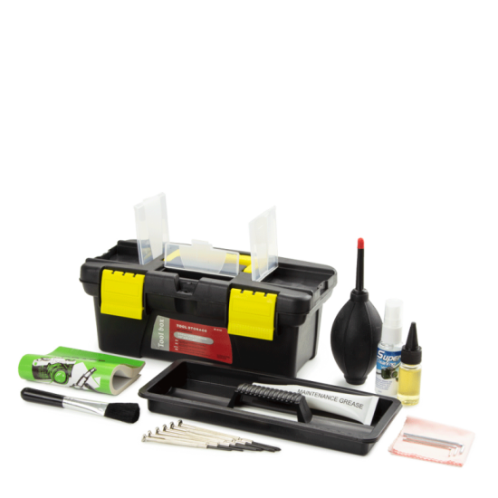 Kit complet de nettoyage / maintenance microscopie