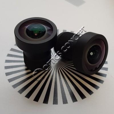 """DSL224D 1/3"""" 2,16mm F/2,0 1,3M"""