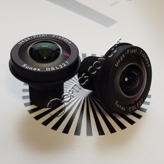 "DSL227A 1/3"" 1,96mm F/2,0 8Mp"