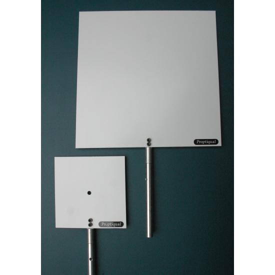 "Ecran blanc 150x150 mm ""12"""