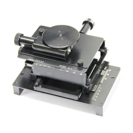 Platine XY MS15X avec sur-platine tournante Dino Lite
