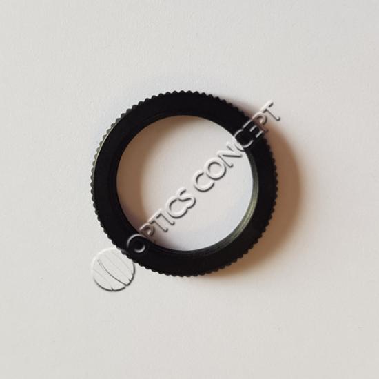 M12x0,5 Lock Ring , Aluminium