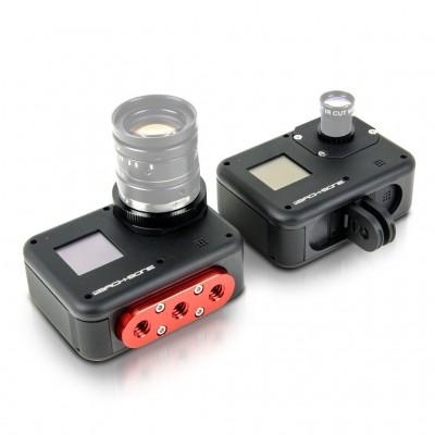 H8PRO - Caméra GoPro HERO8 Black modifiée RIBCAGE