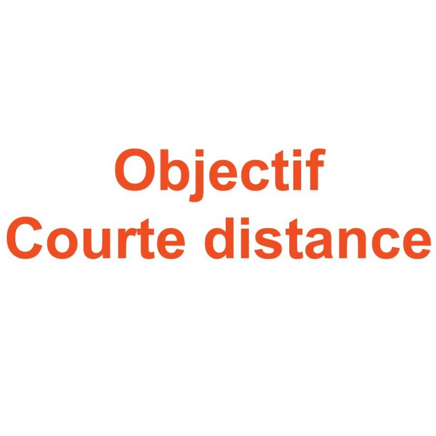 Objectif à courte distance